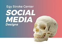 Egy Stroke Center - Social Media Designs