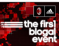 adidas - The first blogal event