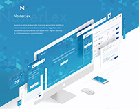 NosterLex | Web and UI/UX design | Marketplace