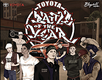 2015 TOYOTA Battle Of The Year Tawian