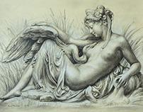 Chalk drawing Kamiol Strzelecki
