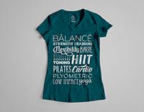 Graphic Design - Fitness T-Shirt