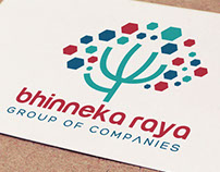 BHINNEKA RAYA Logo