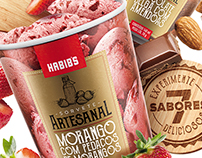 3D Ice Cream and Retouch for Habib's • Brazil