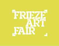 [WEB&UI/UX] Frieze: Art Fair