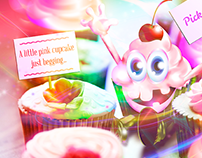 Sugar Monsters: Cupcake