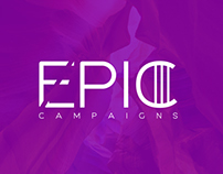 EPIC CAMPAIGNS   LOGO DESIGN