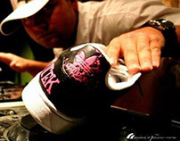 Custom Shoe Photo shoot
