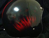 Custom Budweiser Helmet