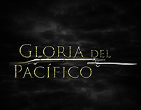 Afiche de la pelicula Gloria del Pacífico.
