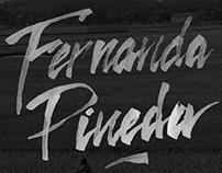 Fernanda Pineda Brand Work