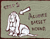 How To Pet A Basset Hound: A Visual Guide