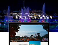 KOMPLEKSI TAIWAN - WEB DESIGN AND DEVELOPMENT