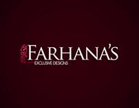 Farhana's (Fashion Boutique) Branding