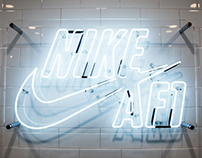 Nike Japan AF1 Pop-up Shop