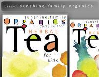 Sunshine Organic Tea Package