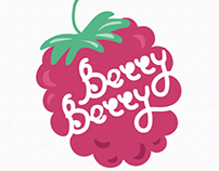"Graphic Identity ""Berry Berry"""
