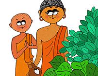 Illustrated Buddha Story