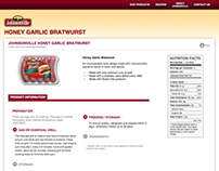 Johnsonville Brats Canada Site