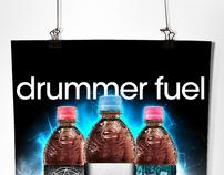 Poster Ad | Pepsi - Drummer Fuel