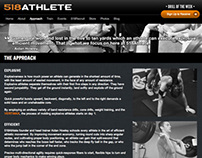 518 Athlete Fitness Center Website