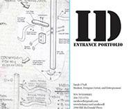 Entrance Portfolio - Industrial Design