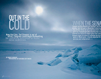 Out In The Cold. Folio Magazine's Ozzie Award.