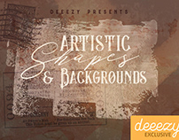 Free Artistic Shapes & Backgrounds