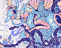"Wacom Intuos Illustration /Calendar ""Peixe"""