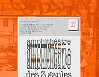 AMPHITHEATRE DES 3 GAULES / creative flow