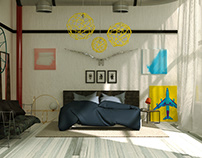 CGI Architecture | Bedroom