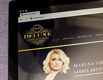 M&M Deluxe - Web Design