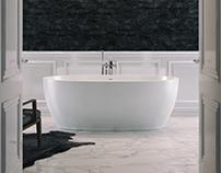 Bathroom interior for Salini S.l.r.