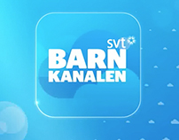 Barnkanalen APP for mobile