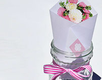 Pink & Purple Petals - Letterhead