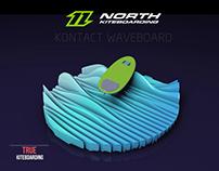 north kiteboarding / board intro