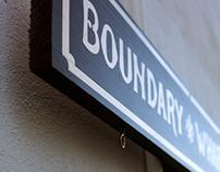 Boundary Wharf Type/Branding