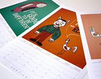 Calendario Zeroestrella 2013