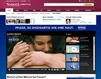 Beiersdorf  - Nivea microsite mock up