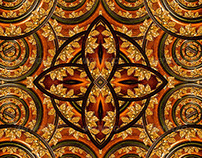 Artistic Royalty Background Pattern