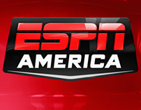 A selection of promos & idents created for ESPN America