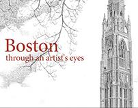 Boston through an artist's eyes