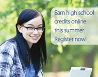 """Toronto Star Ad: """"ESummer School"""""""
