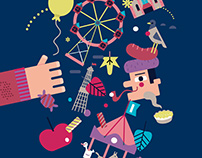 Basler Herbstmesse Illustrations