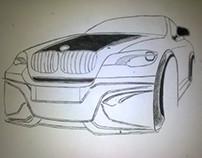 BMW X6M by Nuhkadi