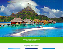 Brava Travel and Tours Website Design