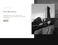Site web - Photographe marine