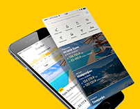 Yandex travel App Redesign Concept