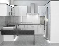 Kitchen renovation in Vrilissia, Athens