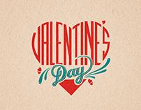 Valentine's Day - Typography